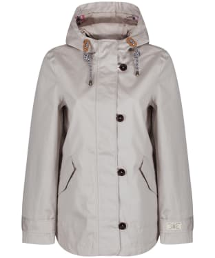 Women's Joules Coast Waterproof Jacket - Ivory