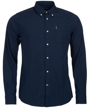 Men's Barbour Stretch Poplin 1 Tailored Shirt
