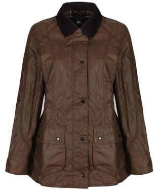 Women's Barbour Beadnell Wax Jacket - Bark