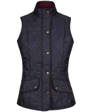 Women's Barbour Cavalry Gilet - Navy