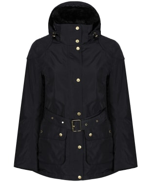 Women's Barbour International Bowden Waterproof Jacket - Black