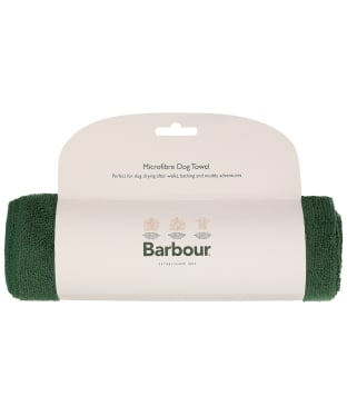 Barbour Micro-fibre Dog Towel - Green