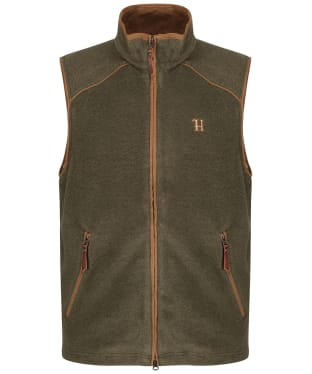 Men's Harkila Sandhem Fleece Waistcoat - Dusty Lake Green Melange