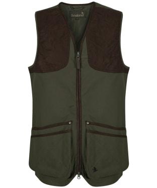 Men's Seeland Winster Classic Waistcoat - Pine Green