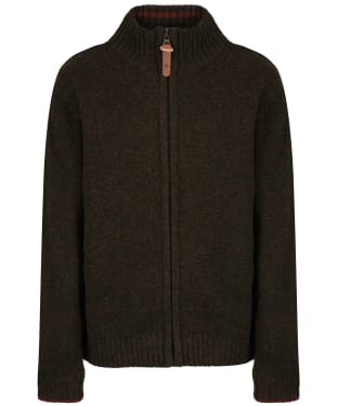 Kid's Seeland Jaden Jersey Sweater - Pine Green Melange