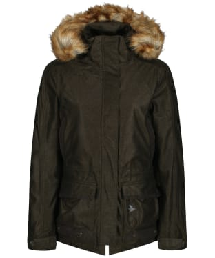 Women's Seeland North Waterproof Jacket - Pine Green