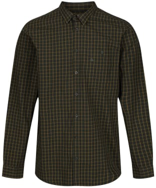 Men's Seeland Warwick Shirt - Pine Green Check