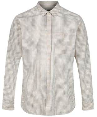 Men's Seeland Warwick Shirt - Soil Brown Check