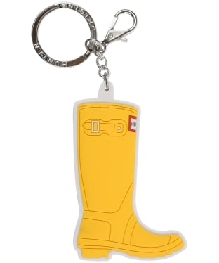 Hunter Original Tall Keyring - Yellow