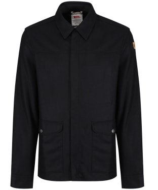 Men's Fjallraven Greenland Shirt Jacket - Black