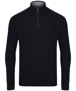 Men's Aigle Gontab Half Zip Sweater - Dark Navy