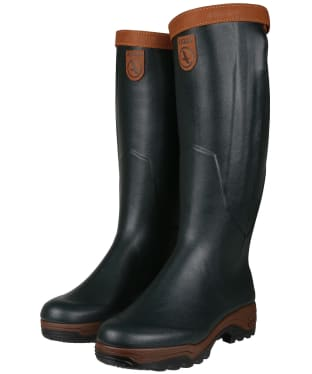 Men's Aigle Parcours 2 Signature Open Wellington Boots - Bronze