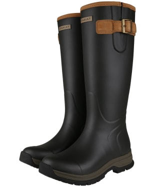 Women's Ariat Burford Waterproof Rubber Boots - Brown