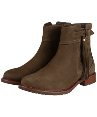 Women's Ariat Abbey Waterproof Boots - Dark Olive