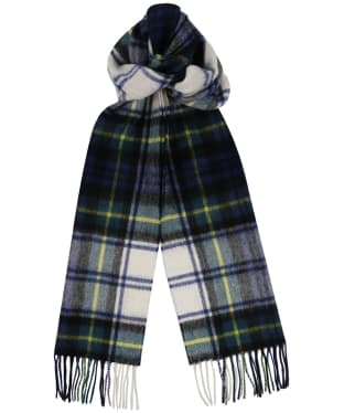 Barbour New Check Tartan Scarf - Dress Gordon