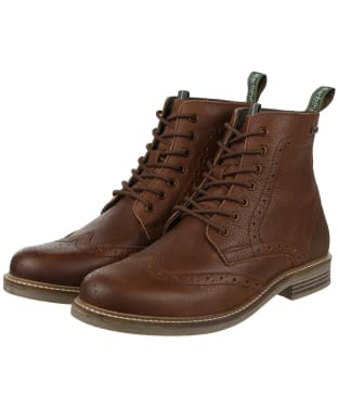 Men's Barbour Belsay Boots - Dark Brown
