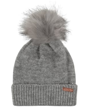 Women's Barbour International Sparkle Knit Beanie - Grey