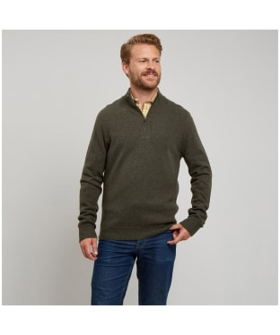 Men's Le Chameau Kingham Jumper - Sage Green