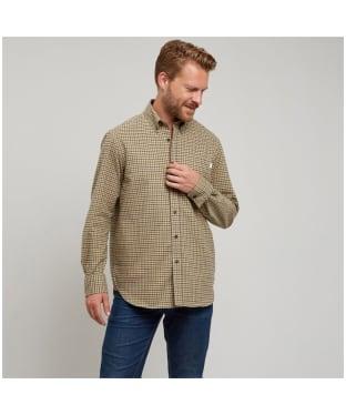 Men's Le Chameau Swinbrook Shirt - Beige Check