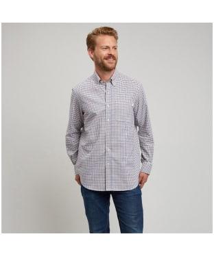 Men's Le Chameau Swinbrook Shirt - Navy Check