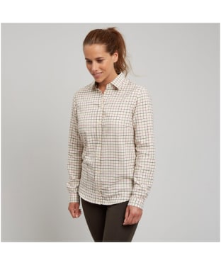 Women's Le Chameau Stanway Shirt - Creme Check
