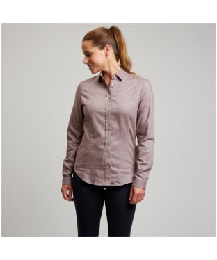 Women's Le Chameau Winchcombe Shirt – M - Burgundy