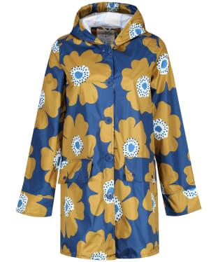 Women's Seasalt Pack It Waterproof Jacket - Buttercup Floral Marine
