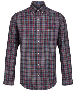 Men's GANT Tech Prep™ Check Oxford Shirt - Marine