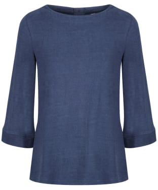Women's Lily & Me Hedgerow Knitted Top - Blue