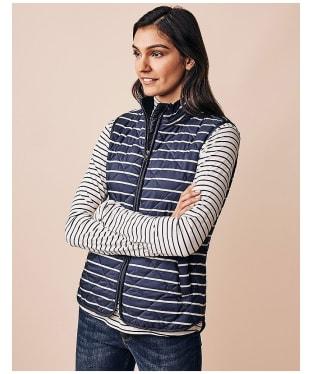 Women's Crew Clothing Stripe Gilet