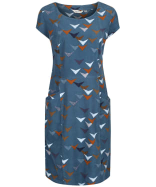 Women's Lily & Me Short Sleeve Cord Dress - Navy