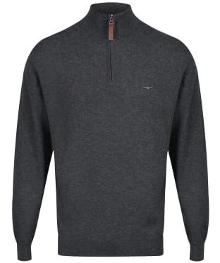 Men's R.M. Williams Ernest Sweater - Charcoal
