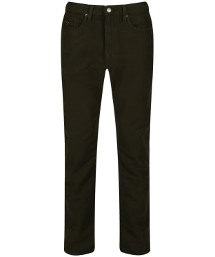 Men's R.M. Williams Ramco Moleskin Jeans - Olive