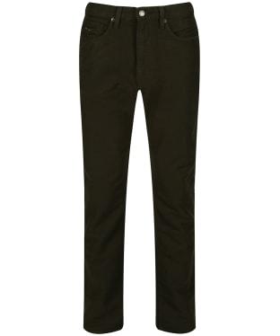 Men's R.M. Williams Ramco Moleskin Jeans - Olive