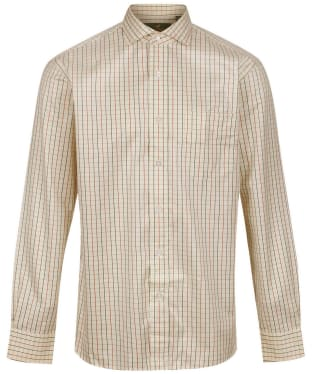 Men's Laksen Baptiste Sporting Shirt - Pine / Hazel / Mandrin
