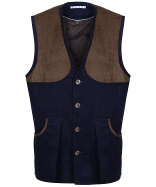 Men's Laksen Kensington Bowcombe Shooting Vest - Navy