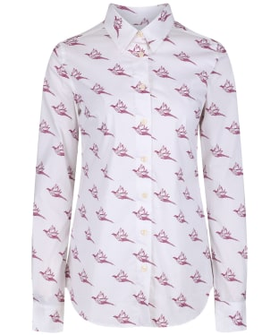 Women's Schoffel Norfolk Shirt - Fig Pheasant