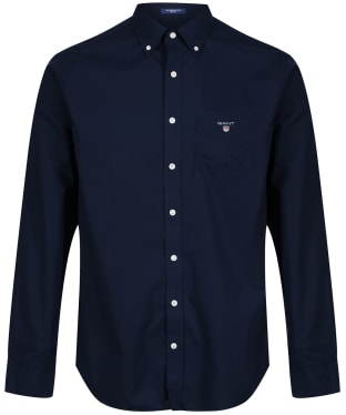 Men's GANT Regular Broadcloth Shirt - Marine
