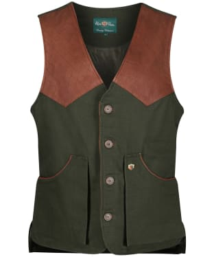 Men's Alan Paine Kexby Shooting Waistcoat - Olive