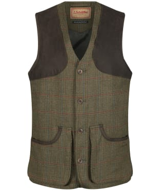 Men's Schoffel Ptarmigan Tweed Waistcoat II - Buckingham Tweed