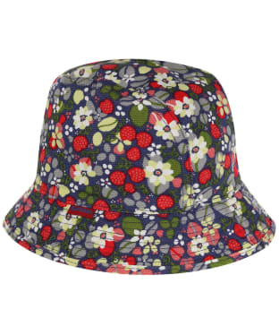Girls Barbour Waterways Bucket Hat - Garter Blue
