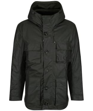Men's Barbour Genoa Waxed Jacket - Sage