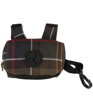 Barbour Tartan Poop Bag Dispenser