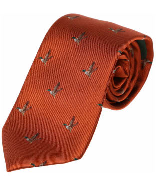 Men's Laksen Duck Tie - Blood Orange