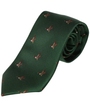 Men's Laksen Duck Tie - British Racing Green