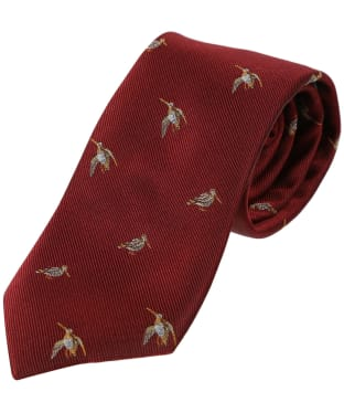 Men's Laksen Woodcock Tie - Vintage Red