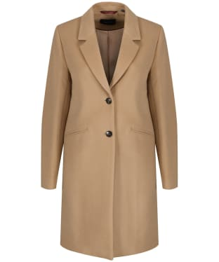 Women's GANT Classic Tailored Coat - Warm Khaki