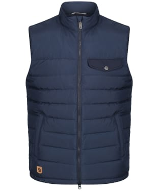 Men's Fjallraven Greenland Down Liner Vest - Night Sky
