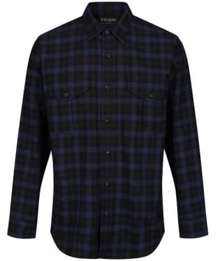 Men's Filson Lightweight Alaskan Guide Shirt - BLACK/BLUE HTHR