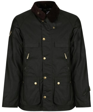 Men's Barbour Icons Bedale Waxed Jacket - Sage